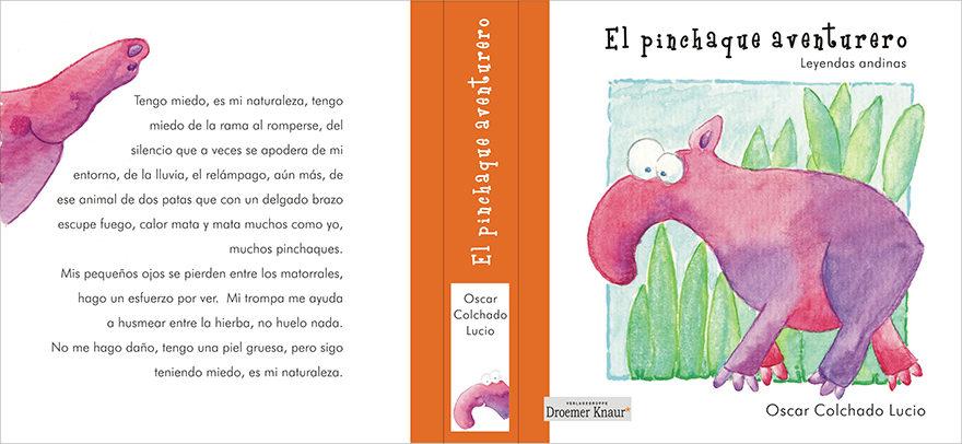 Buchcover: El pinchaque aventurero - Leyendas andinas