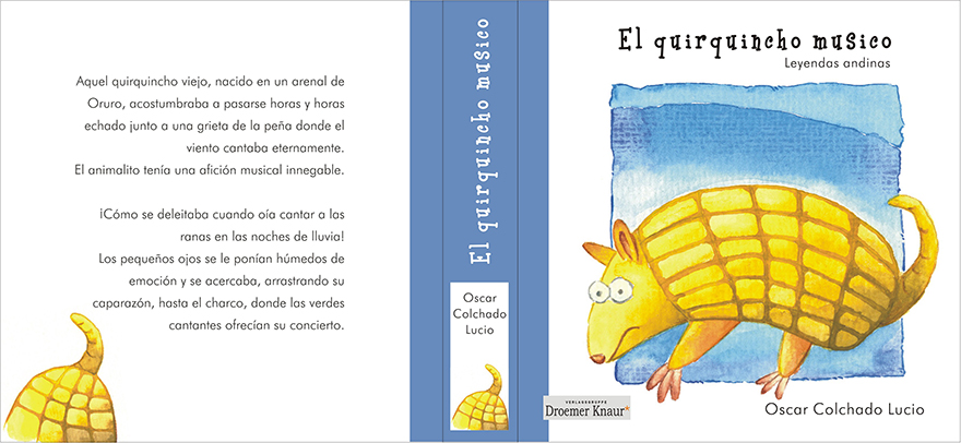 Buchcover: El quirquincho musico