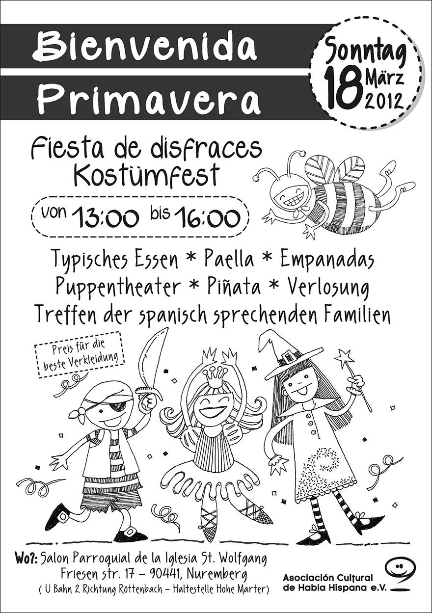 Flyer: Fiesta disfraces acdhh