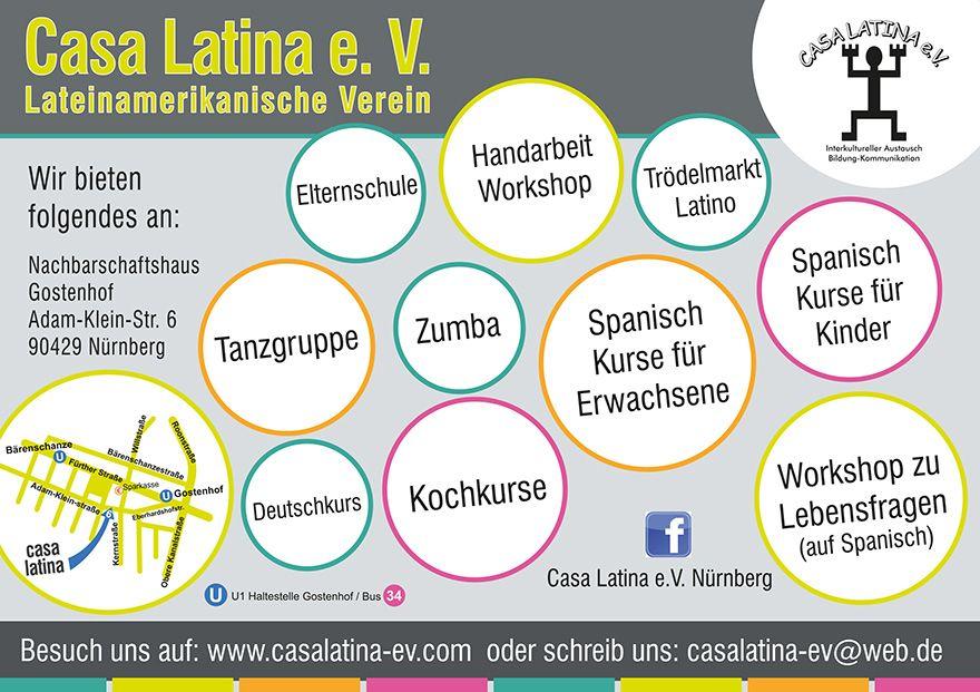 Flyer Casa Latina