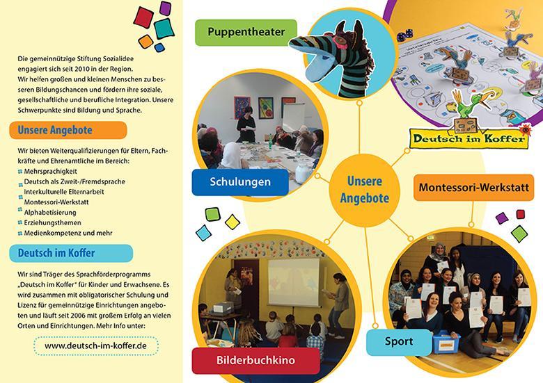 Broschüre Programm 2016 Stiftung Sozialidee 2