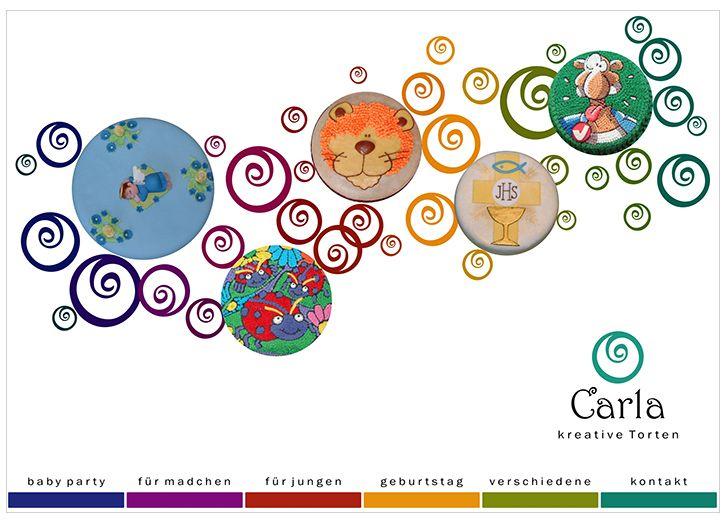 Webdesign Carla Kreative Torten