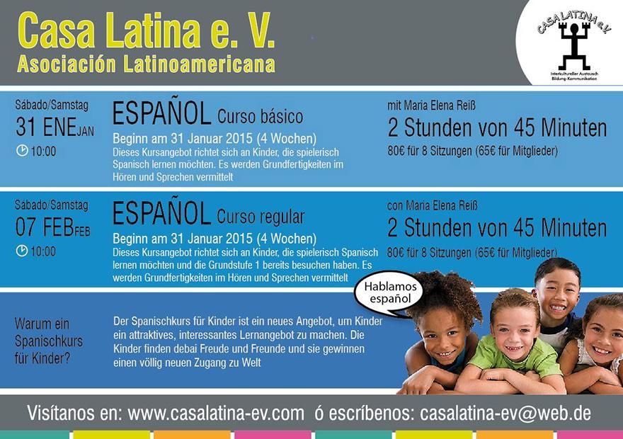 Anzeige: Curso español