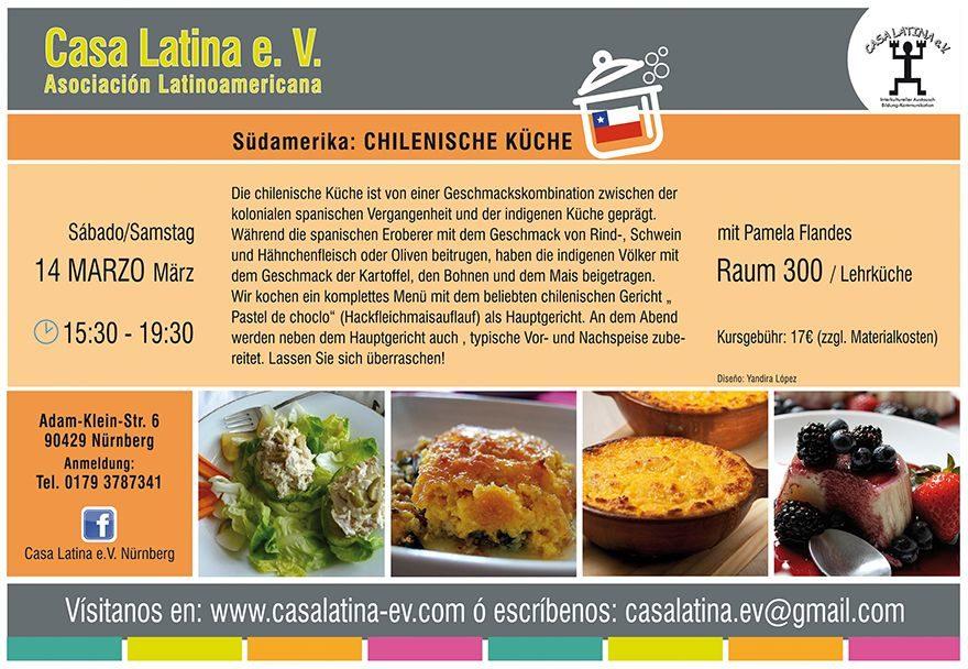 Anzeige: Chilenische Küche