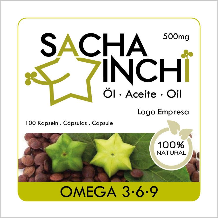 Etikette Sacha Inchi Öl