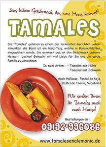 Cartel Tamales